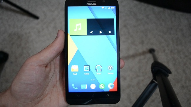 Asus Zenfone 2 Android Marshmallow CyanogenMod 13